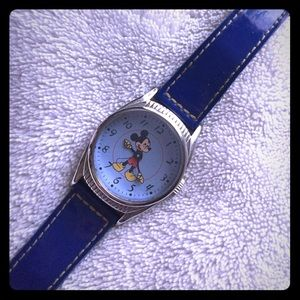 Retro style limited edition Mickey watch.