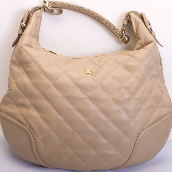 2b6cd809234b Burberry Handbags - Burberry Quilted Leather  hoxton  Hobo