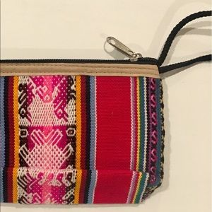 Bolivian cloth pouch