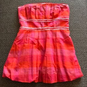 Strapless blouse size 2