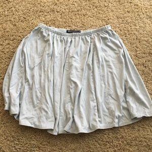 Blue Suede Brandy Melville Skirt