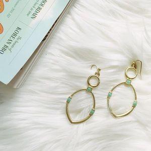 Super Cute Gold Dangle Earrings