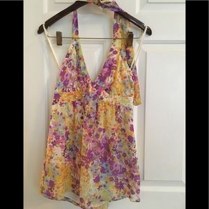 Floral top new with tag size 6
