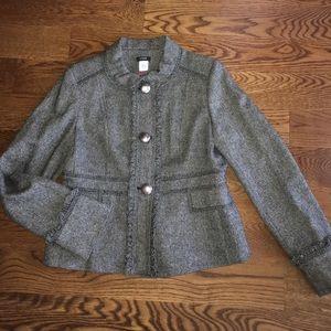 JCrew Juliette Herringbone Jacket, Sz 14