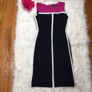 Lauren Ralph Lauren Size 6 Colorblock Dress