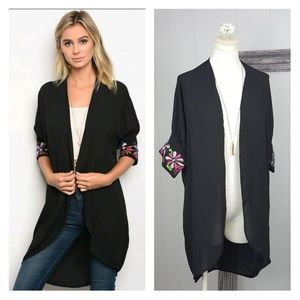 Sweaters - Kimono Cardigan  | XS-LG