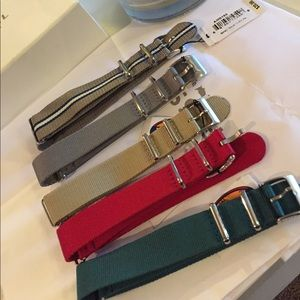 Watch band lot. 18mm & 22mm