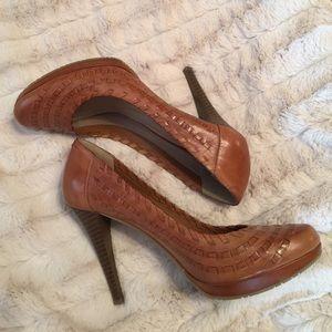 Andrew Geller Leather Stilettos