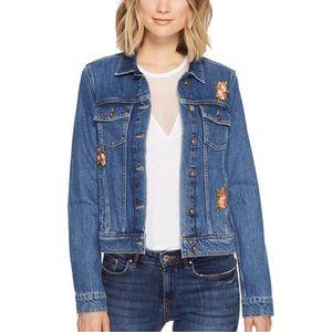 Paige Rowan Embroidered Jean Jacket