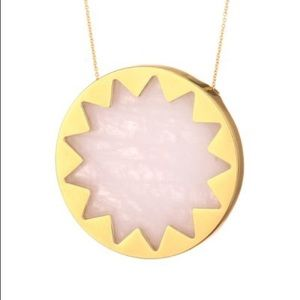 Pink House of Harlow Sunburst Necklace!