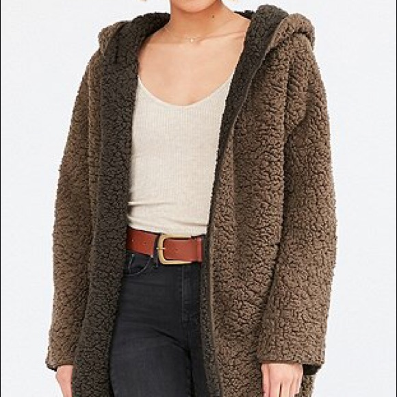 Urban Outfitters Jackets Coats Ecote Fuzzy Reversible Jacket