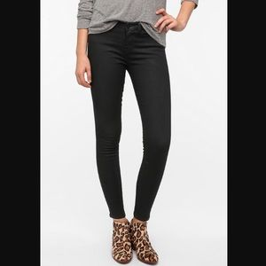 BDG Mid Rise Twig Ankle Coated Jean