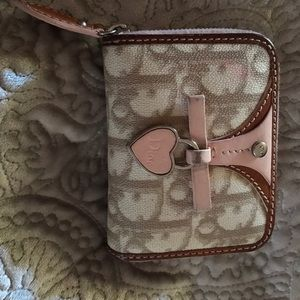 100% authentic Dior mini card wallet