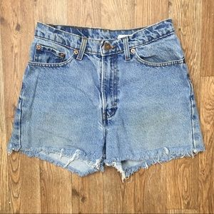 Vintage 90s Jordache High Waisted Denim Mom Shorts