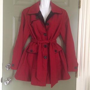 Pretty❤️Vintage Wool Blend Coat Jacket fit n flare