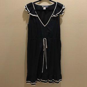 NU collective silk trim dress