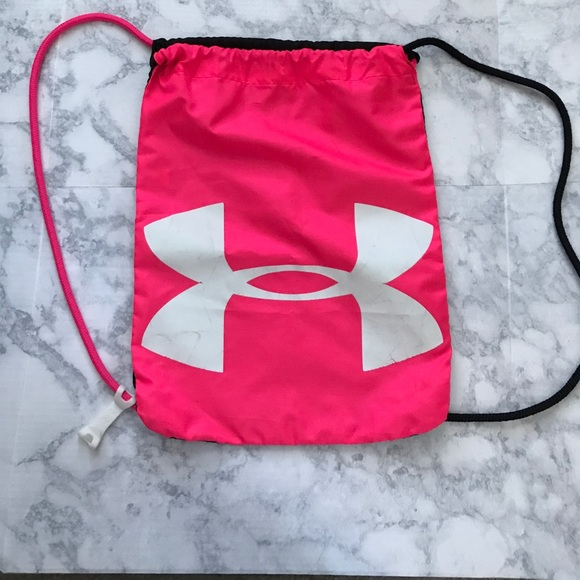 78d010909a36 Under Armor Drawstring Backpack. M 59e66f665a49d065dc059139