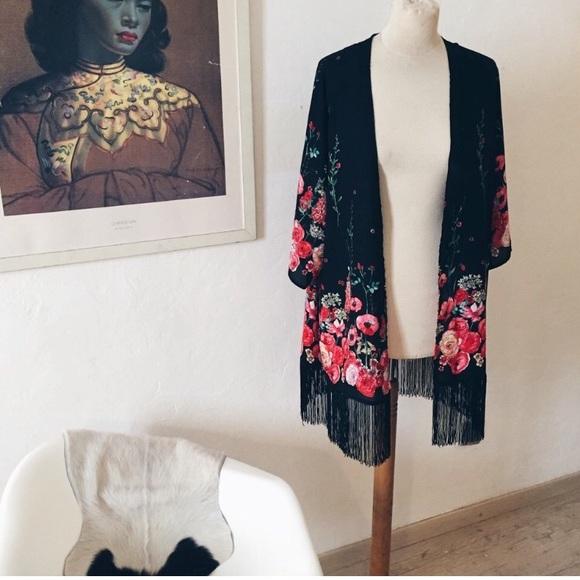 Vintage Tops - Vintage Kimono