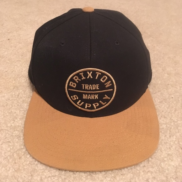Brixton Accessories - 100% authentic Brixton supply co snapback hat 7df09b469a10