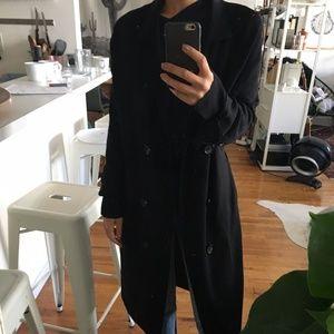 Zara Knitted Trenchcoat