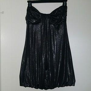 Forever 21 Black Shimmery Dress Size Medium