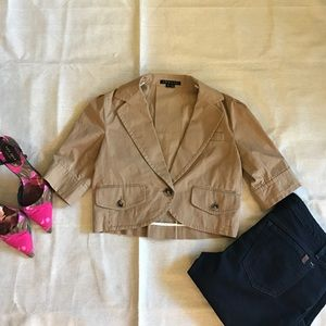 Theory khaki jacket