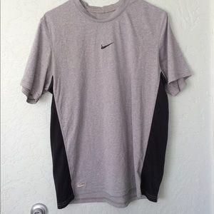 Gray Nike Dri fit shirt