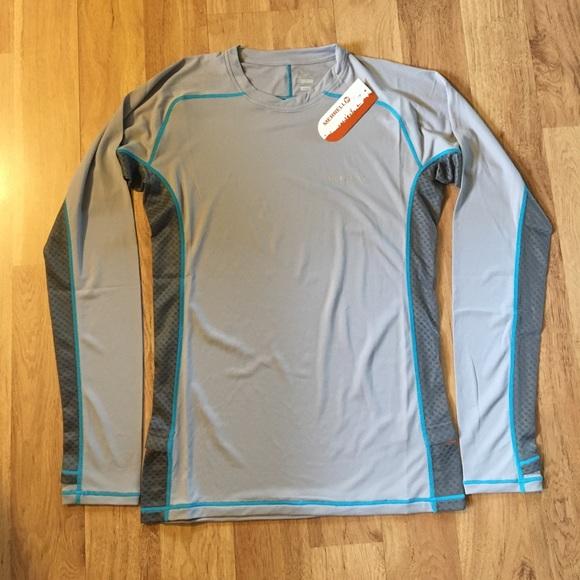 15c2d4b47b MERRELL select wick long sleeve shirt ✨ NWT