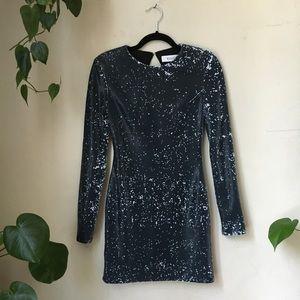 ELLIATT Sequin Mino Dress