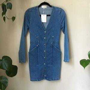 The Jetset Diaries Denim Mini Dress