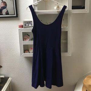 Topshop purple skater dress