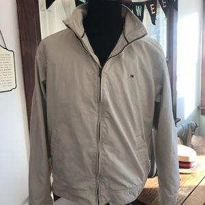 Tommy Hilfiger Beige Light Cotton Jacket