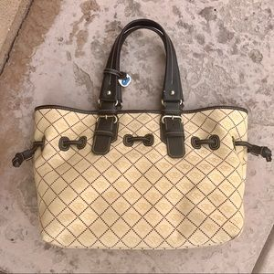 Dooney & Bourke Fabric/Leather Tote