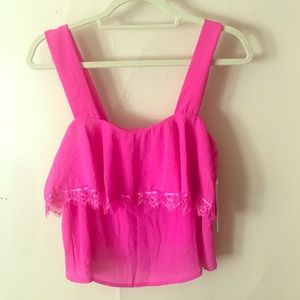CAD / Nordstrom hot pink going out top