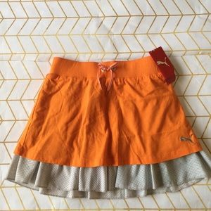3/$35!Sample Sale! Puma Girls Skirt, M