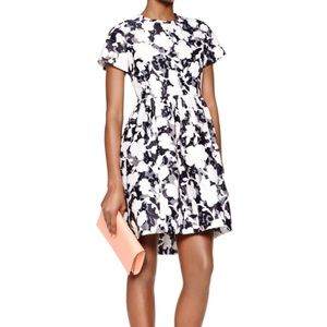 NWT kate spade graphic floral lace dress