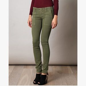 Current/Elliott The combat Skinny Jean pants Army