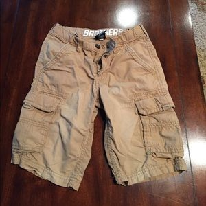 Brothers cargo shorts