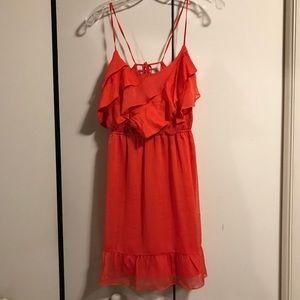 American Eagle Orange Sundress