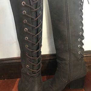 Sam Edelman Tie Up- High Heeled Boots Circus