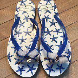 Brand New!! Kate Spade Flip Flips Size 9