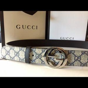 Reversible Gucci Belt