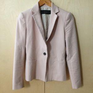 Zara muted pink blazer sz S
