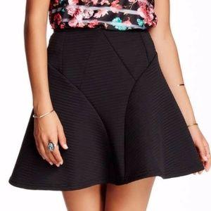 Romeo & Juliet Couture black skater skirt