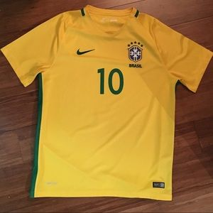 Nike Neymar Brasil Brazil Jersey - Large