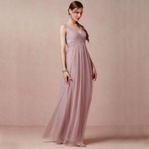 BHLDN Esme maxi dress in dusty rose