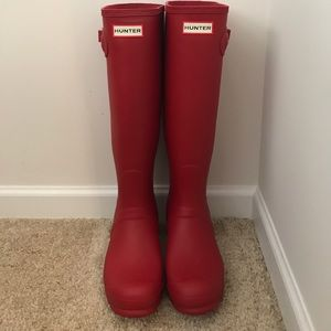 Never Worn Hunter Boots! Size 8