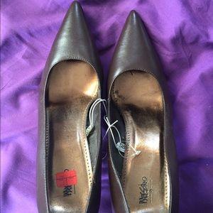Chocolate brown heels from target