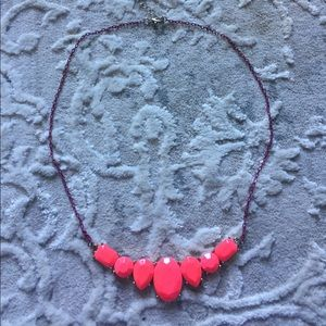 crewcuts bright pink necklace