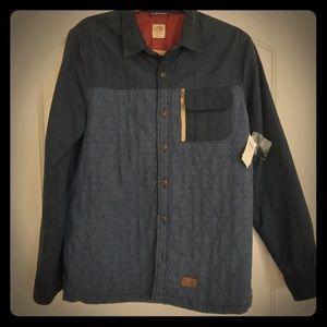 Vans jacket blue diamond stitching size S